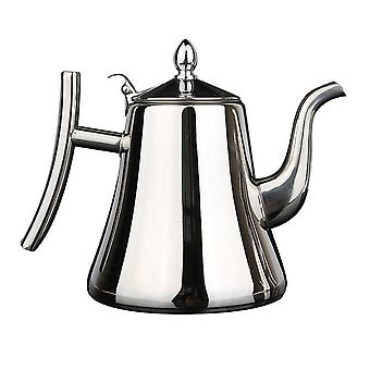 Stainless Steel Kettle, Thicker With Filter Hotel Tea Pot
