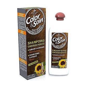 Dark colored hair shampoo 250 ml