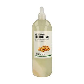Almond Milk Nourishing Bath Gel 1000 ml of gel