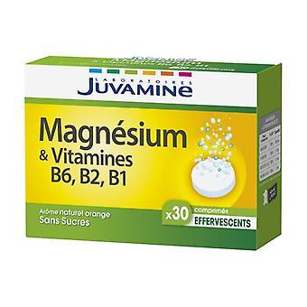 Magnesium + Vitamins B6, B2, B1 30 effervescent tablets