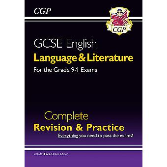New Grade 9-1 GCSE English Language and Literature Complete Revision & Practice (with Online EDN) by CGP Books (Paperback, 2016)