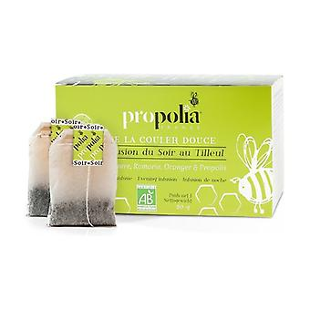 Propolis & organic plants relaxing infusion 20 packets of 1.5g