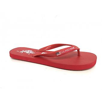 Slippers Us Polo Red Mod Barclay Rubber Us16up30