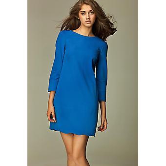 Blauwe nife jurkenvz42573