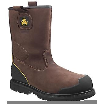 Amblers fs223 goodyear welted waterproof safety boots mens