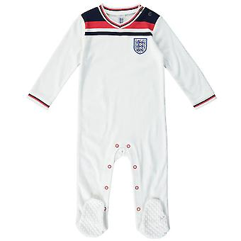 Engeland Voetbal 1982 Retro Baby Sleepsuit | 2021
