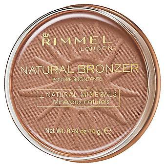 لندن Rimmel Bronzer الطبيعية للماء مسحوق Spf15 027