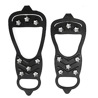 Winter Outdoor, Anti-skid Ice Climbing Shoe, Spikes Grips Covers With Stretch