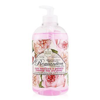 Romantica exhilarating hand & face soap with rosa canina florentine rose & peony 251233 500ml/16.9oz