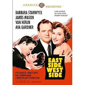 East Side West Side (1949) importer des USA [DVD]