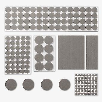 Felt Furniture Protector Pads | Pukkr Grey