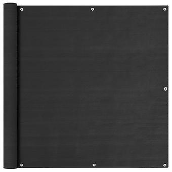 vidaXL balcon protection visuelle anthracite 120x600 cm HDPE