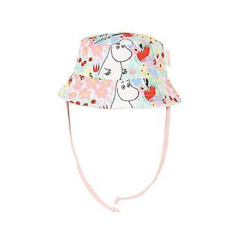 Mumin Smörblomma-hatt baby naturvit