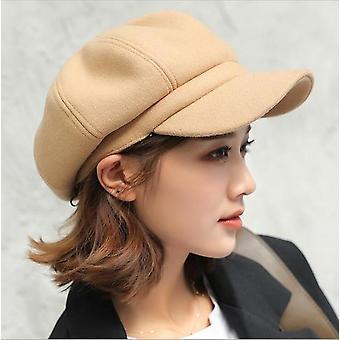 Осенняя зимняя шапка шляпы, мужчины-дамы шерстяные шапки