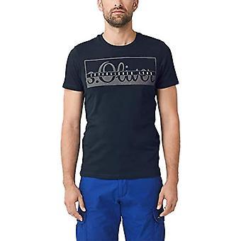 s.Oliver 03.899.32.5246 T-shirt, blå (frisk blæk 5952), lille mand