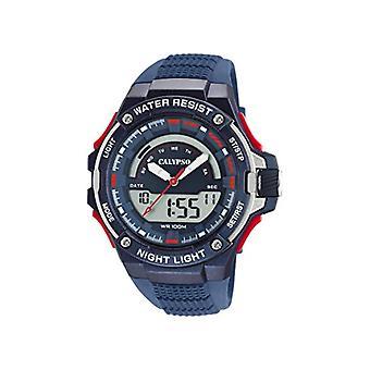 Calypso Watches Analog-Digital Watch Quartz Man with Plastic Strap K5768/3