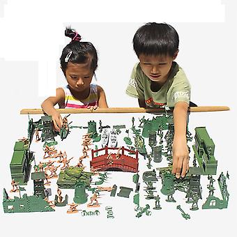 Mini Classic Military Soldiers Figures Models Playset Desk Decor Toddler Army Men Kids Toy Gift Accessories Children Toy