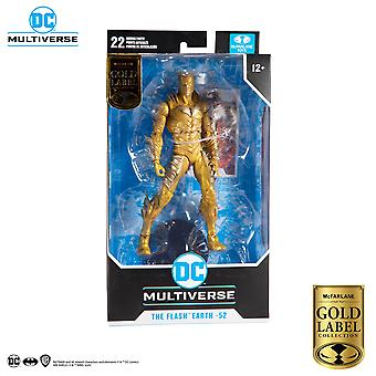 """Mcfarlane Red Death The Flash (Gold Label) DC Multiverse 7"""" Action Figure"""