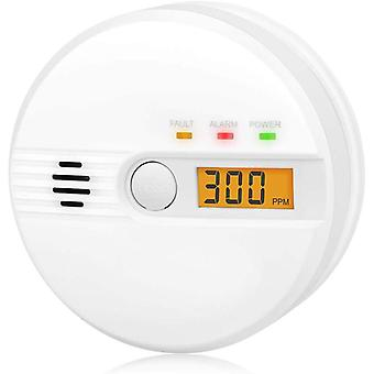 Kohlenmonoxid Warnmelder LCD Anzeige CO Melder 85Db Alarm Kohlenmonoxidsensor Kohlenmonoxid Melder