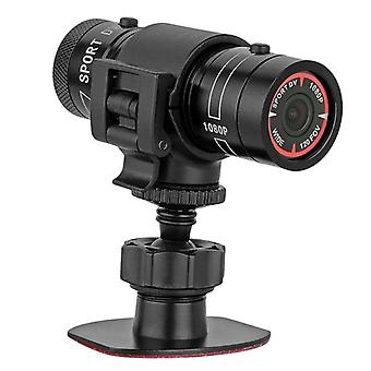 Mini F9 Hd 1080p Bike Motorcycle Helmet Sport Camera Video Recorder Dv