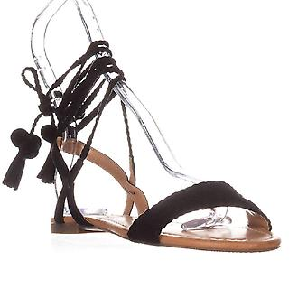 INC International Concepts Womens Ganice2 Fabric Open Toe Casual Ankle Strap Sandals