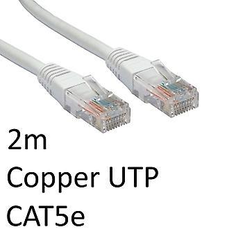 Cavo di rete UTP in rame stampato OEM bianco da RJ45 (M) a RJ45 (M)