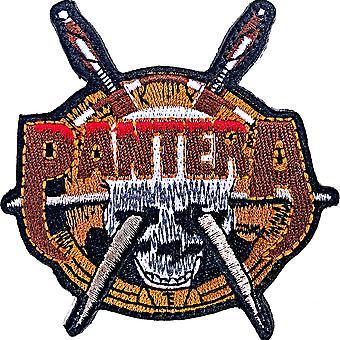 Pantera - Skull Knive Standard Patch