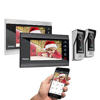 7 Inch Wireless/wifi Smart Ip Video Door Phone Intercom System