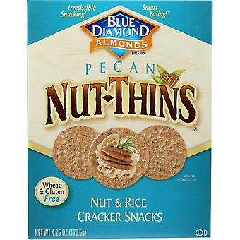 Blue Diamond Cracker Nut Thin Pecan, Case of 12 X 4.25 Oz