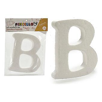 Letter B polystyrene