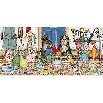 Gibsons Walkies Jigsaw Puzzle (636 Pieces)