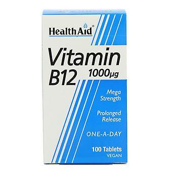 HealthAid Vitamiini B12 1000ug Depottabletit 100 (801085)