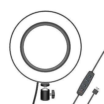 16cm LED Füllringlicht für Fotografie Live Streaming YouTube Video mit Kugelkopf-Adapter
