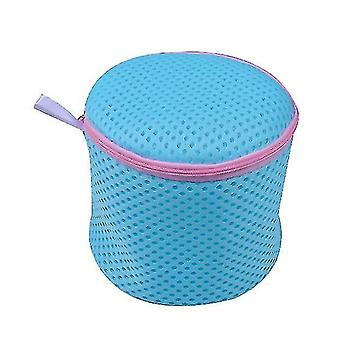 Bra Bags In Stock Machine Washable Wash Bag Thickened Sandwich Wash Protection(Blue)