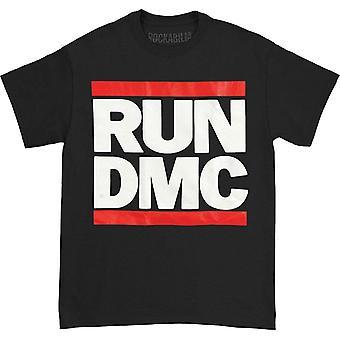 Run DMC Logo Black Mens T Shirt: Large