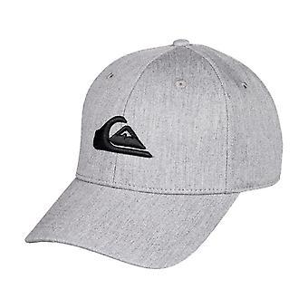 Quiksilver Men's Cap ~ Decades grey