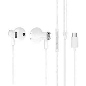 Auriculares con micrófono Xiaomi WS-MI DUAL DRIVER Blanco