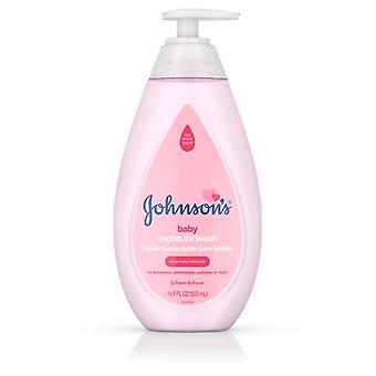 Johnson's Gentle Baby Moisture Wash, 16.9 fl oz