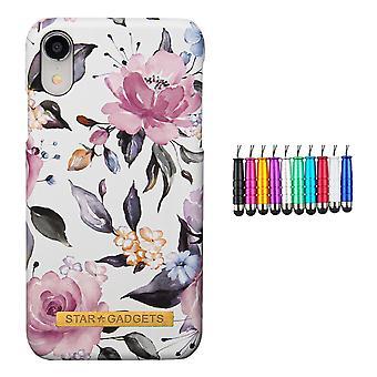 Iphone Xr - Powłoka / Ochrona / Kwiaty
