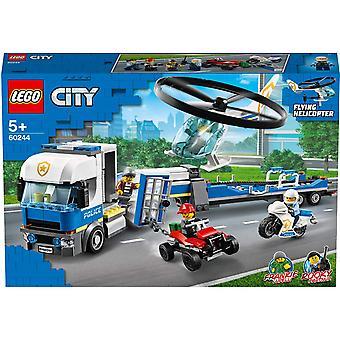 Police municipale - Transport par hélicoptère de la police