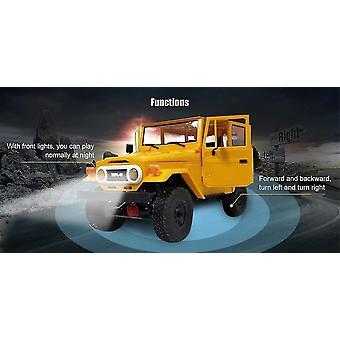 Remote control cars trucks metal rc car c34 rtr 1/16 toyota fj40 4wd climbing