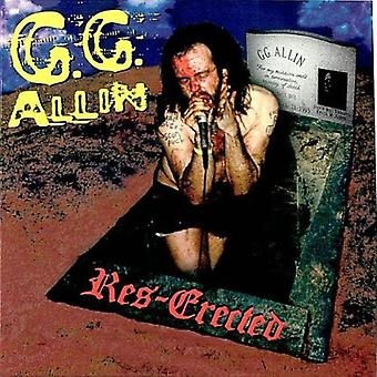 Gg Allin - Res-Erected [CD] USA import