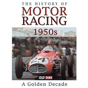 History of Motor Racing in 1950s [DVD] USA import