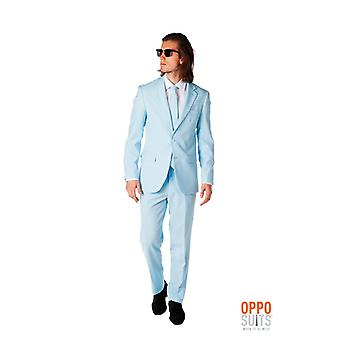 Cool blue costume bleu clair Opposuit slimline Premium 3 pièces UE tailles