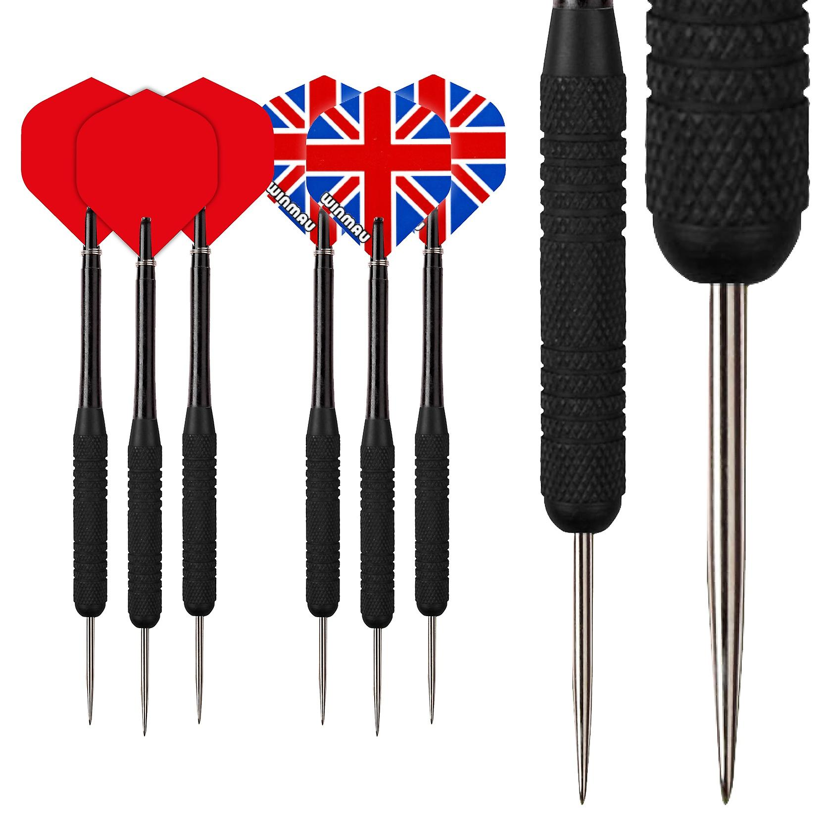Red Dragon Strata 19 Piece Darts Set with Flights, Shafts & Red Dragon Checkout Card
