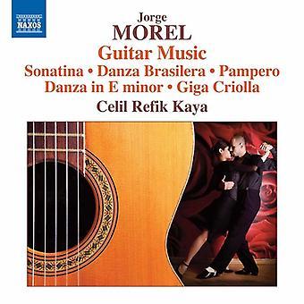 Morel / Refik-Kaya - Jorge Morel: Guitar Music [CD] USA import