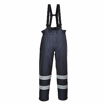 Portwest - Bizflame Rain Specialist Multipurpose Protective Trouser With Brace