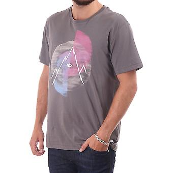 Paul Smith Jeans Ss Slim Fit T Shirt With Mountian Print