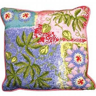 Passion Fruit and Flower Needlepoint Kit