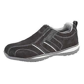 Grafters Mens Real Suede Casual Safety Trainer